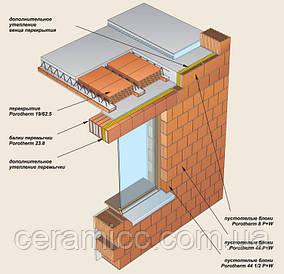 Строительство домов из блоков Porotherm