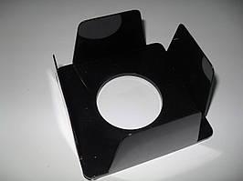 Бокс для бумаги 90х90х45 мм, черный