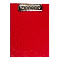 Клипборд А5, PVC, красный (BM.3413-05)