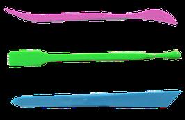 Набор стеков для пластилина, 3шт, ассорти Zibi (ZB.6919)