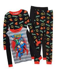 Пижама  Супергерои Лига правосудия  Justice League  (США) (Размер  5-6 лет)