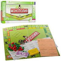 Настольная игра 2030R Монополия, игровое поле, фишки, карты, кор., 43,5-22-3 см.