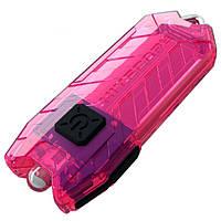 Фонарь наключный Nitecore TUBE (Pink)