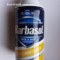 Пена для бритья Barbasol С ланолином для жесткой щетины Skin Conditioner 283 мл