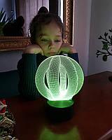 """3D светильник """"Целостность"""" 3DTOYSLAMP, фото 1"""