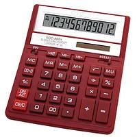 Калькулятор настольный Citizen SDC-888 XRD,12-разрядный красный