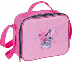 Термо-сумка Economix Bright pink для школьных завтраков.E80392