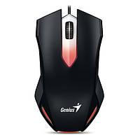 Мышка компьютерная Genius X-G200 USB Gaming (Black)