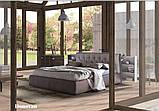 Итальянская мягкая кровать с подсветкой DONOVAN фабрика LeComfort, фото 3