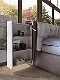 Итальянская мягкая кровать с подсветкой DONOVAN фабрика LeComfort, фото 2