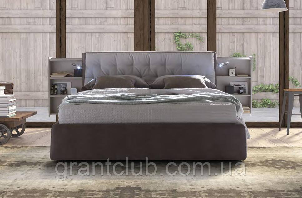 Итальянская мягкая кровать с подсветкой DONOVAN фабрика LeComfort