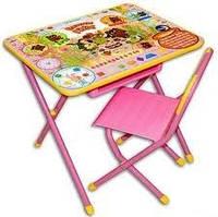 """Набор детской складной мебели Дэми №3 """"Винни Пух"""", цвет розовый"""
