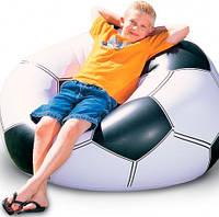 Надувное кресло мяч Футбол до 100 кг.
