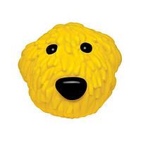 Petstages OL YELLOW, 8 см - Желтая собака - виниловая игрушка-пищалка для собак
