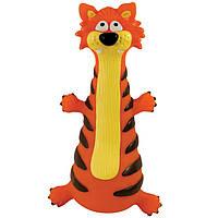 Petstages (Петстейджес) Kooky Cat - Рыжий кот - виниловая игрушка для собак
