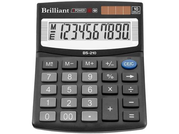 Калькулятор BS-210 10розр.,2-пит, фото 2