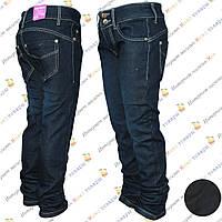 Тёплые джинсы для девочки на флисе от 6 до 10 лет (aa81027)