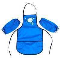 Фартух с нарукавниками для детского творчества Economix цвет голубой