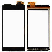 Сенсор тачскрин Nokia 530 Lumia черный