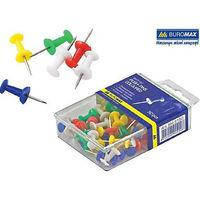 Кнопки-гвоздики, цветные. JOBMAX, 25шт.