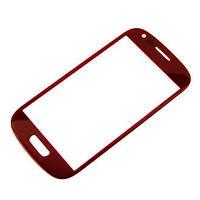 Стекло сенсора для Samsung i8190 Galaxy S3 mini / i8200 Galaxy S3 mini Neo красное