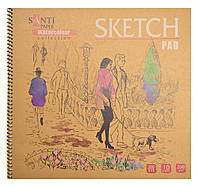 "Альбом для эскизов ""Paper Watercolour Collection"", 315*300мм, 10л (741695)"