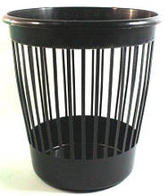 Корзина для бумаги 10 л (82061) черная