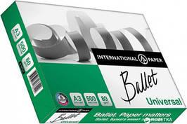 Бумага офисная BALLET UNIVERSAL, A3, клас С+, 80г/м2, 500 лист
