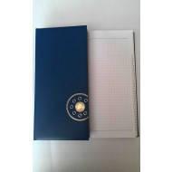 Книжка алфавитная А4, 176лист., 135х285мм, баладек синий