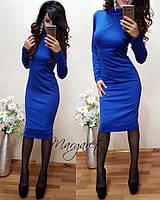 Женское красивое приталенное платье