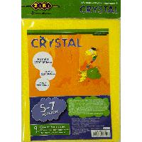 Обложка для учебников Crystal, 5-7 кл., комплект 9 шт.