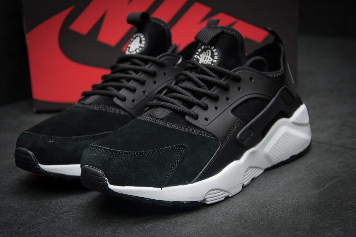 Кроссовки мужские Nike Air Huarache, черные (11594),  [  41 (последняя
