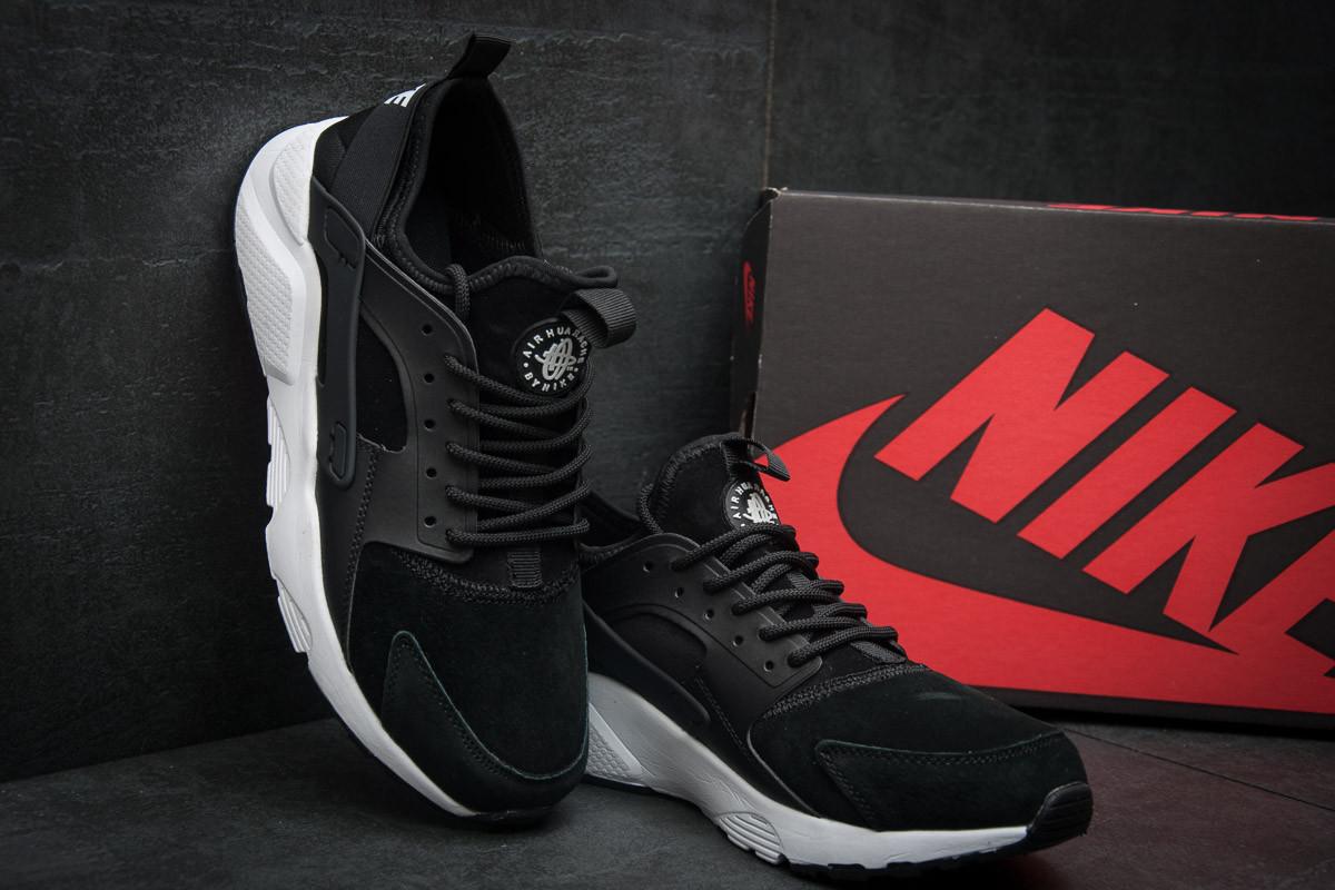 Кроссовки мужские Nike Air Huarache, черные (11594),  [  41 (последняя 3