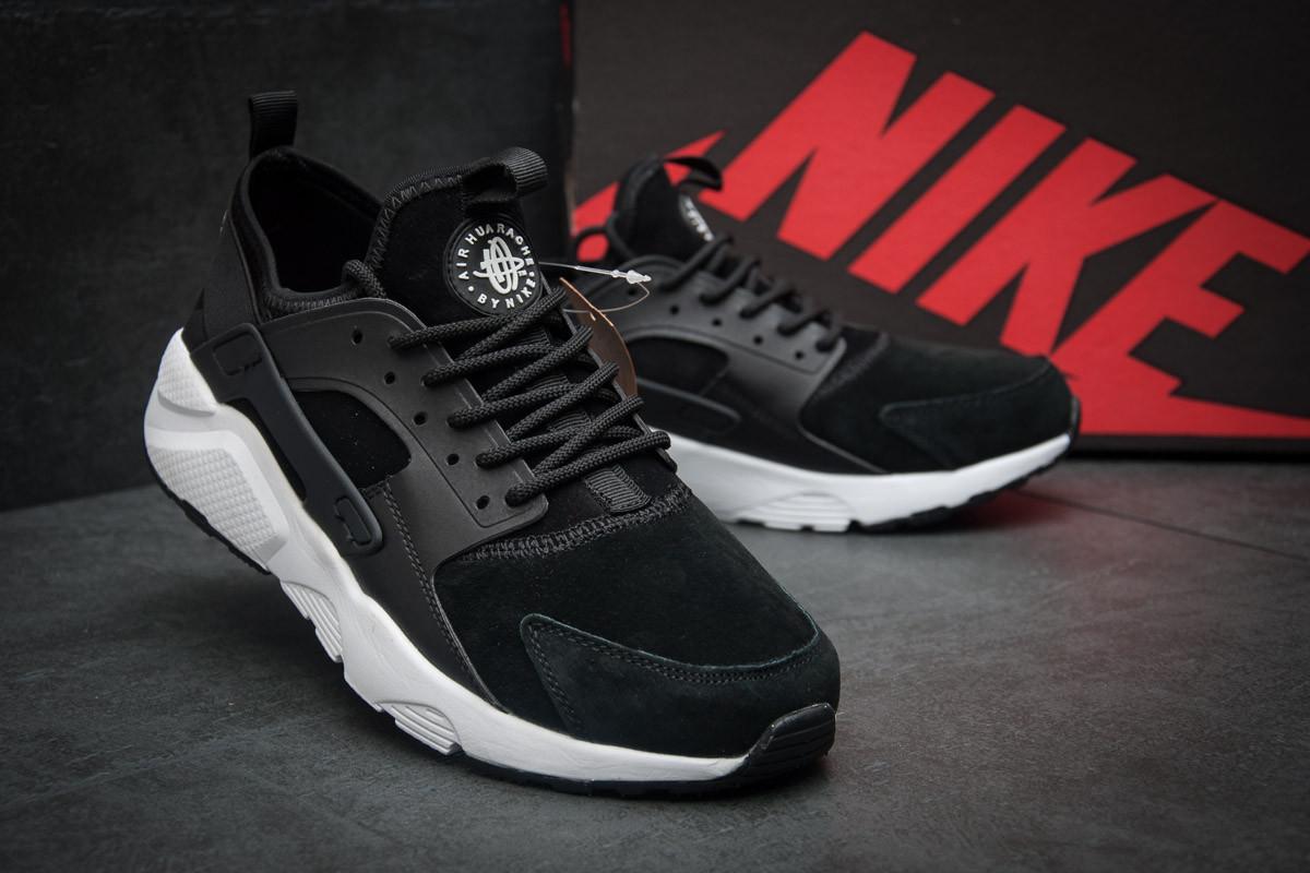Кроссовки мужские Nike Air Huarache, черные (11594),  [  41 (последняя 5