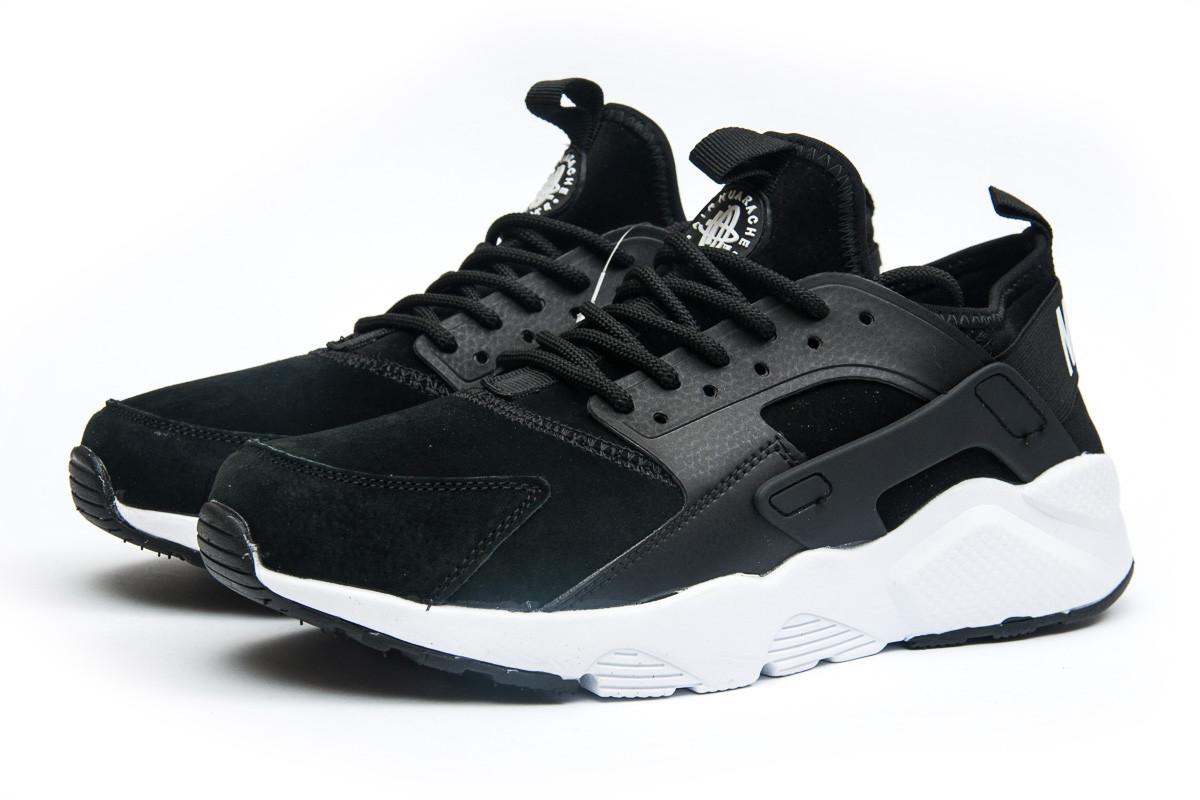 Кроссовки мужские Nike Air Huarache, черные (11594),  [  41 (последняя 7