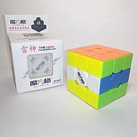Кубик Рубика 3х3 Qiyi Thunderclap v2 Color (кубик-рубика MoFangGe) , фото 1