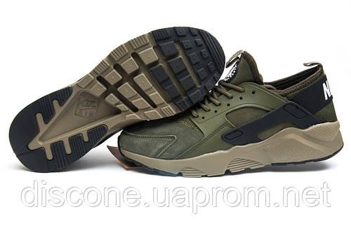 Кроссовки мужские Nike Air Huarache, хаки (11596), р. 45 46