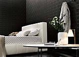 Двоспальне м'яка сучасна ліжко GAUCHO фабрика LeComfort (Італія), фото 3