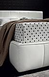 Двоспальне м'яка сучасна ліжко GAUCHO фабрика LeComfort (Італія), фото 4