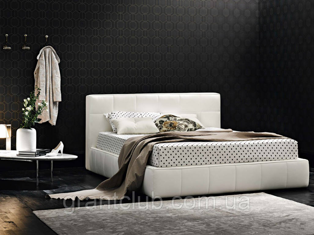 Двоспальне м'яка сучасна ліжко GAUCHO фабрика LeComfort (Італія)