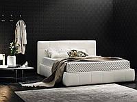 Двуспальная мягкая современная кровать GAUCHO фабрика LeComfort (Италия)