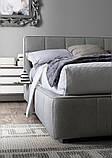 Двоспальне м'яка сучасна ліжко GAUCHO фабрика LeComfort (Італія), фото 6