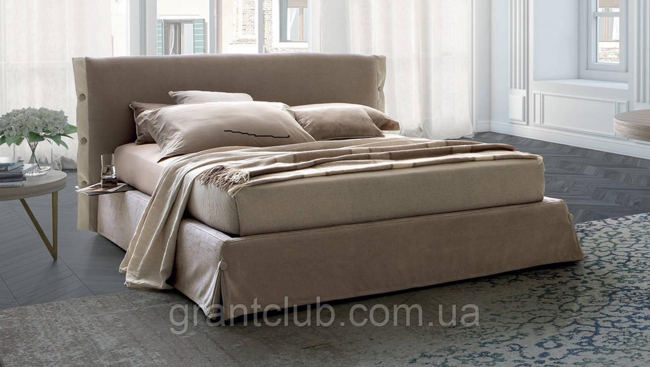 Итальянская мягкая кровать GISELLE фабрика LeComfort