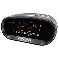 Часы с радиоприемником Supra SA-32FM black/amber