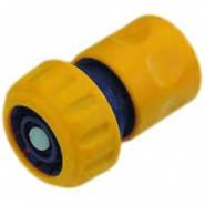 Коннектор Verano для шланга1/2  и 3/4 + аквастоп, фото 2