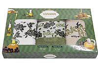 Салфетки махровые Vianna (оливки) 30х50 3 штуки 30*50