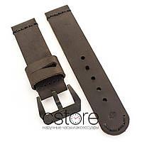 Для часов кожаный ремешок Panerai 22мм, 24мм, 26мм dbbb (07624)