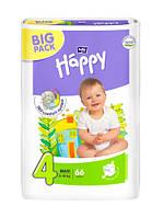 Подгузники детские Bella Happy Maxi 4 (8-18 кг) BIGPACK, 66 шт.