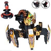 Робот-Паук 21541 (Золотой) передвигается практически по любым поверхностям