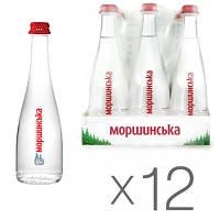 Вода минеральная Моршинская стекло н/г 0.33 л 12 шт